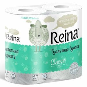 Զուգարանի թուղթ REINA 4 հատ