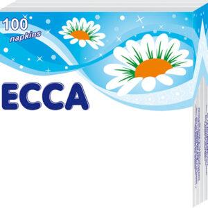 Սեղանի անձեռոցիկ ECCA 100 հատ