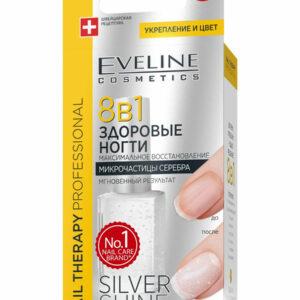 Բուժիչ լաք Eveline Silver Shine 8&1