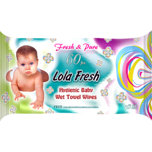Խոնավ անձեռոցիկ Lola Fresh 60 հատ