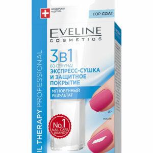 Բուժիչ լաք Eveline 3&1