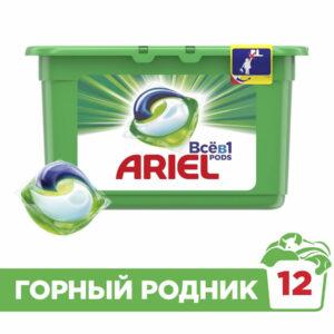 Լվացքի կապսուլ ARIEL 12 հատ