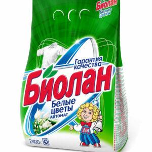 Լվացքի փոշի Биолан 2.4կգ