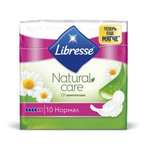Կանացի միջադիր Libresse Natural 10 հատ