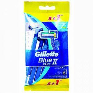 Սափրիչ Gillete Blue2 plus 5+1 հատ