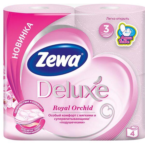 Զուգարանի թուղթ Zewa Deluxe 4 հատ
