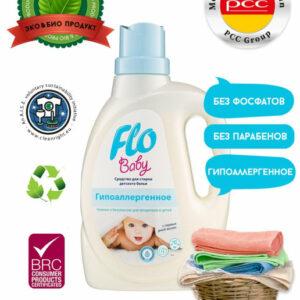 Լվացքի գել Flo Baby 1լ