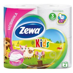 Զուգարանի թուղթ Zewa Kids 4 հատ